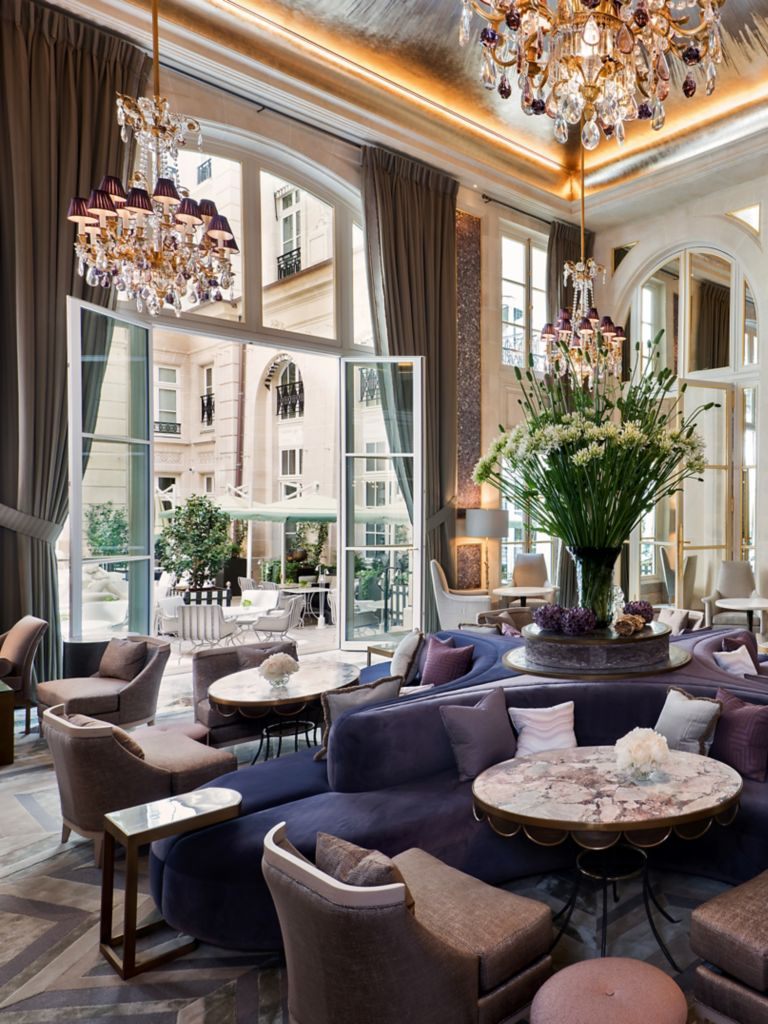 Jardin D Hiver Paris High Tea Desserts Lounge Restaurant Paris