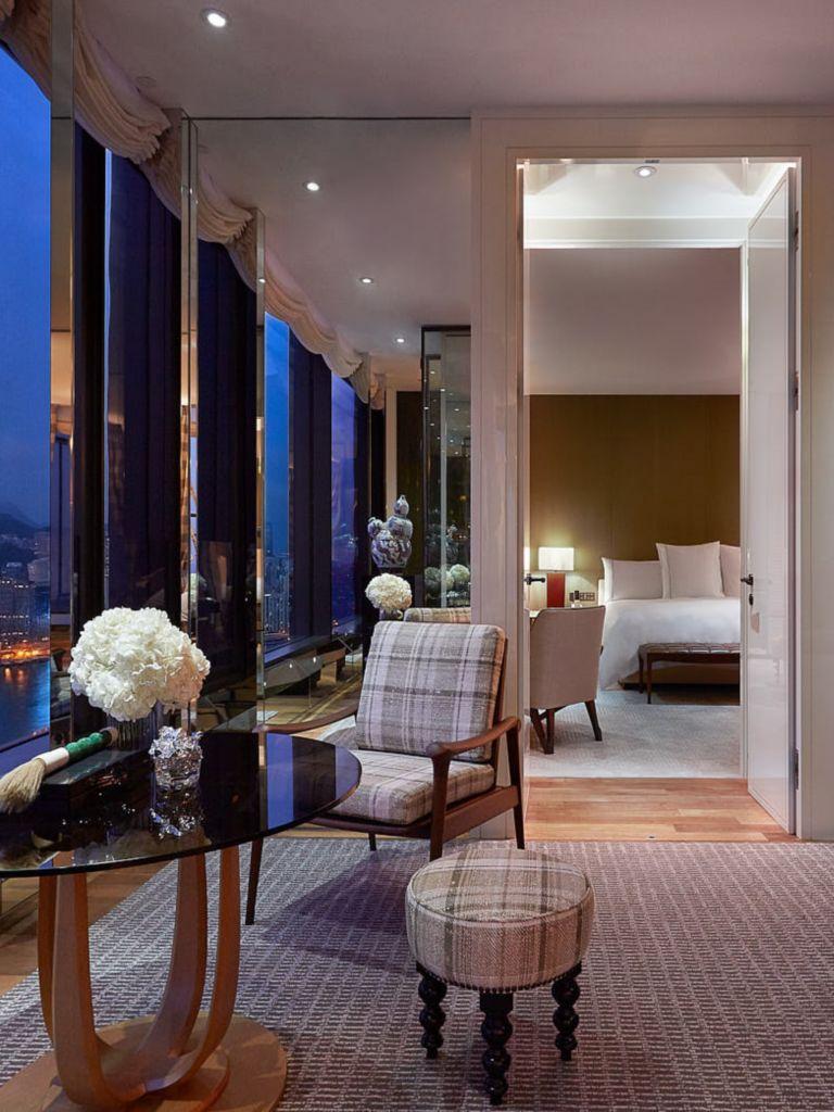 Manor Suite Luxury Hong Kong Suites Rosewood Hong Kong