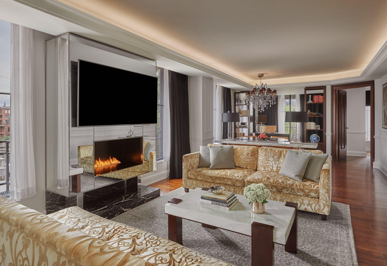 presidential suite  luxury hotel in dc  rosewood